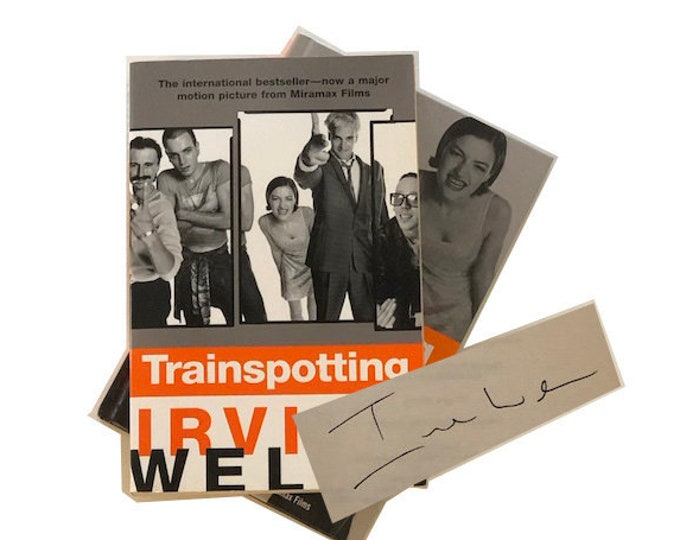 Signed Trainspotting by Irvine Welsh Set