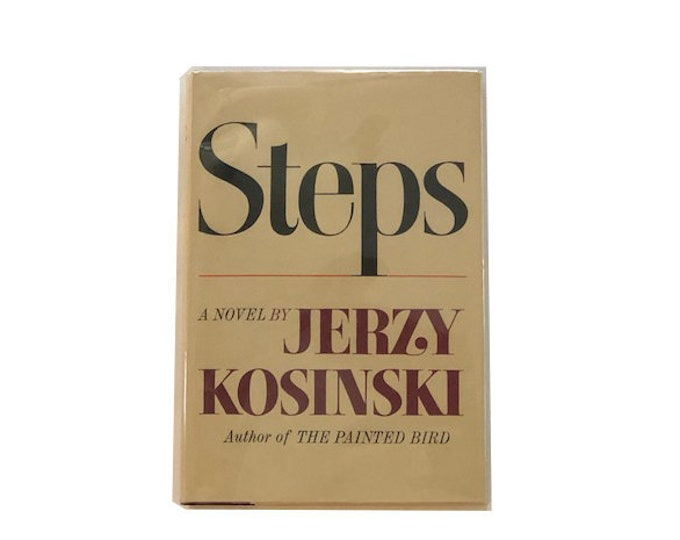 First Printing Steps by Jerzy Kosinski