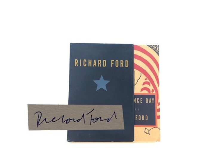 Signed Advance Readers Edition Independence Day by Richard Ford