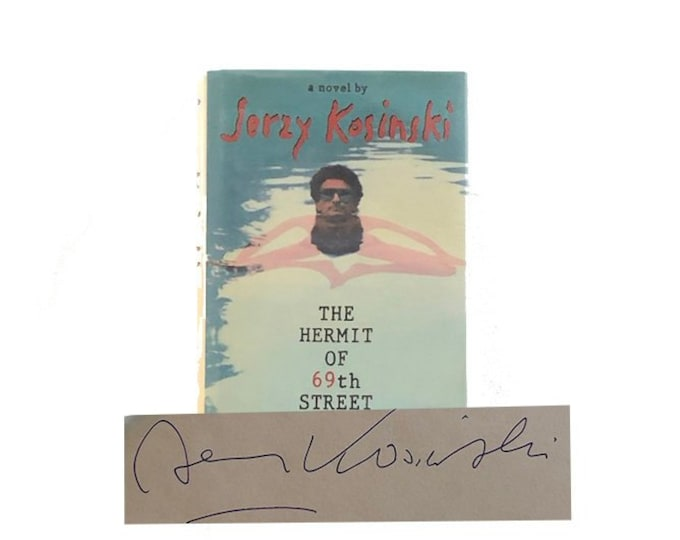 Signed The Hermit of 69th Street by Jerzy Kosinski