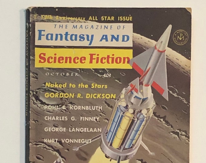 October 1962 The Magazine of Fantasy and Science Fiction All Star Issue