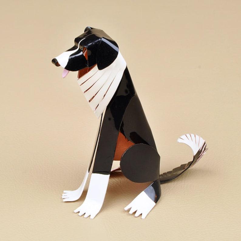 Border Collie Dog Sculpture, Handmade Copper Miniature, Collectible Dog  Art, Border Collie Art, Border Collie Figurine, Border Collie Gift