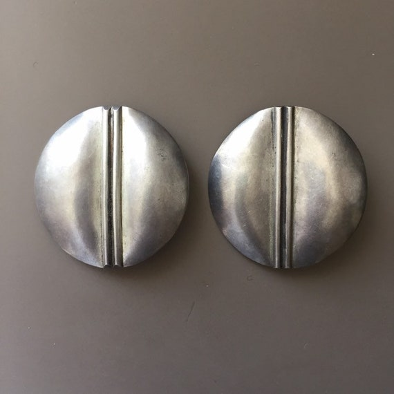 Tulla Booth Sterling Silver Minimalist Earrings