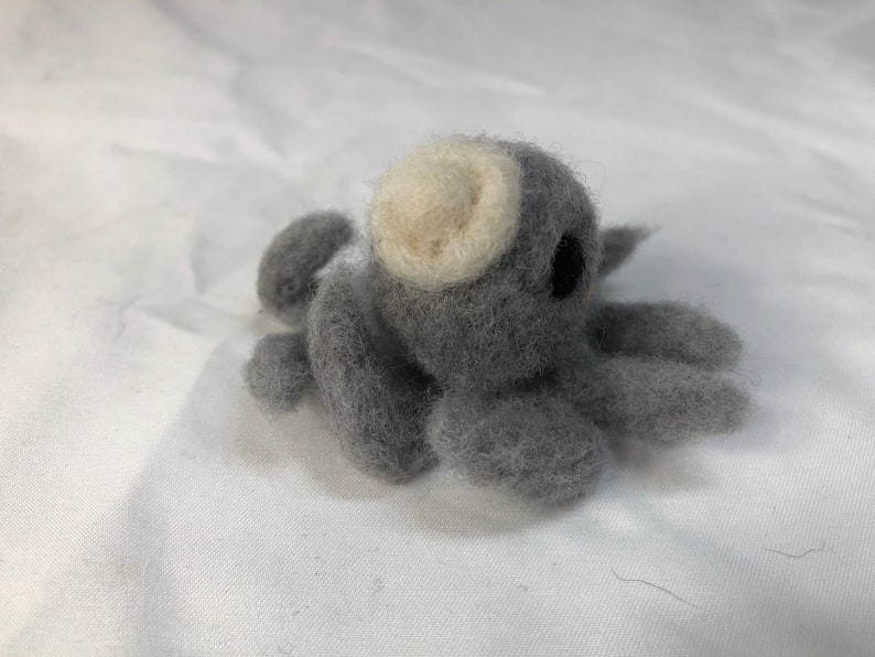 Wool Felted Octopus