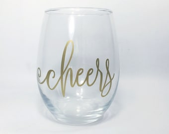 Stemless Wine Glasses - Wine Glasses with Sayings - Bachelorette Wine Glass - Funny Stemless Wine Glass - Bestfriend Gifts