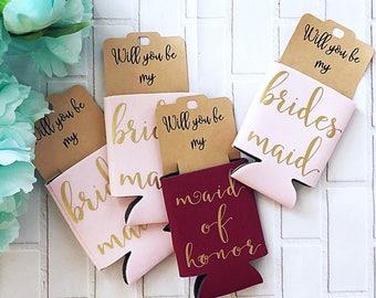 Bridesmaid Proposal - Maid of Honor Proposal - Will You Be My Bridesmaid Gift - Will You Be My Maid of Honor - Bridesmaid Favor Gift