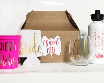 Gift for Bride - Bride Box - Future Mrs Gift -  Newly Engaged Gift - Engagement Gift - Bride to Be Gift - Bridal Shower Gift - Bride Cup