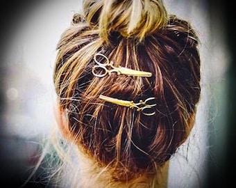 Scissor hair clips (2 clips)
