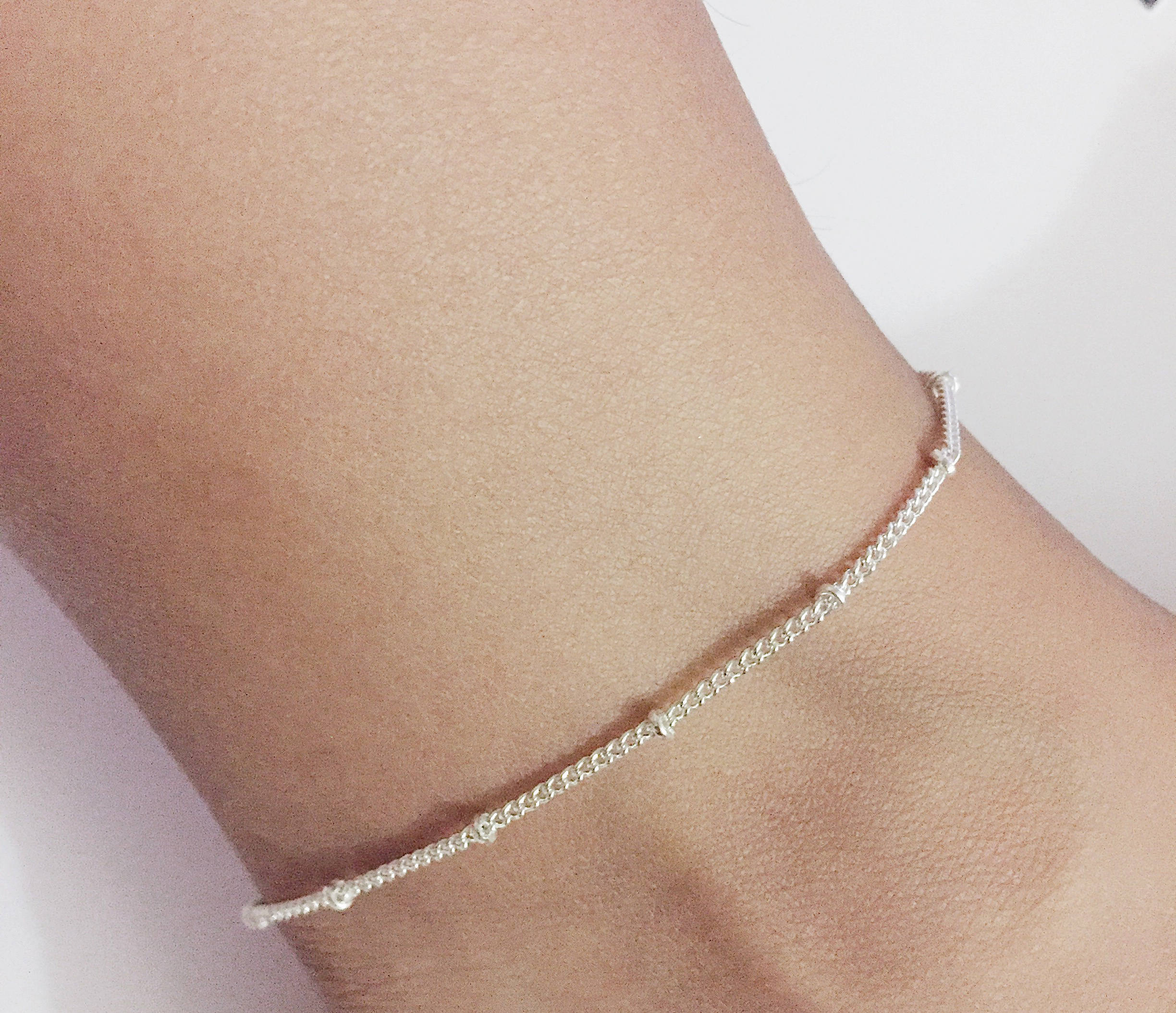 disc il trendy fullxfull anklet en zoom solid charms rose tiny shimmer listing in qlxm gold