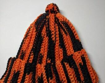 70b3a645147 Bengals pom pom hat