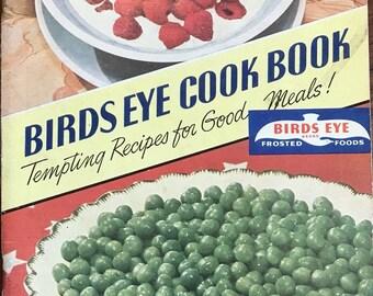 Frozen food cookbook etsy vintage 1941 frozen foods corp birds eye cook book forumfinder Choice Image