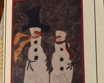 Applique Art When Quilts Fly by Judy Rohret  Willy Melt & Betty Will