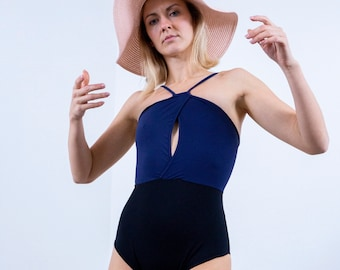 b4e09d80e6f660 Koru zero waste swimsuit. Sexy sustainable swimwear designed for the surf.  Made in NZ from Italian, high quality recycled nylon. Eco fashion