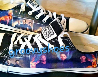 e77c18a3fe8267 Canvas sneakers. Winchester brothers. Canvas shoes