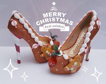 dd2bc69ca284a Christmas shoes | Etsy