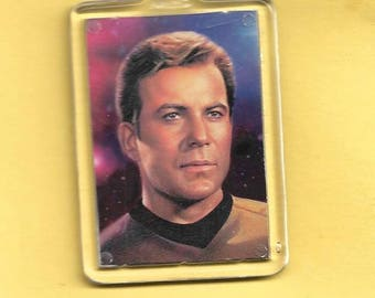 Star Trek Captain James T. Kirk Plastic Keychain