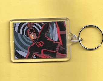 Marvel Daredevil Plastic Keychain