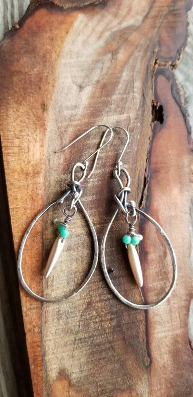 hoop earrings Argentium silver hoop earrings artisan silver earrings hammered earring interchangeable dangle charms,silver hoop earrings