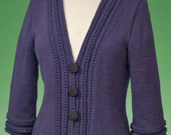 6d1a4a0d356fc PDF Knitting Pattern Top-Down Cardigan  171