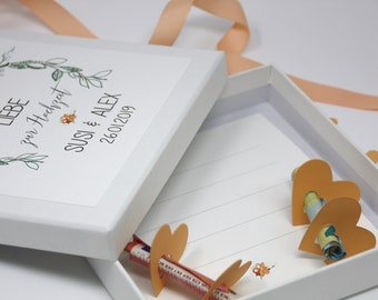 Geldgeschenk Hochzeit Verpacken Etsy