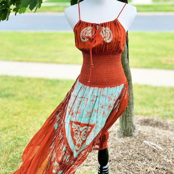 DREAMY Native American Boho Sundress
