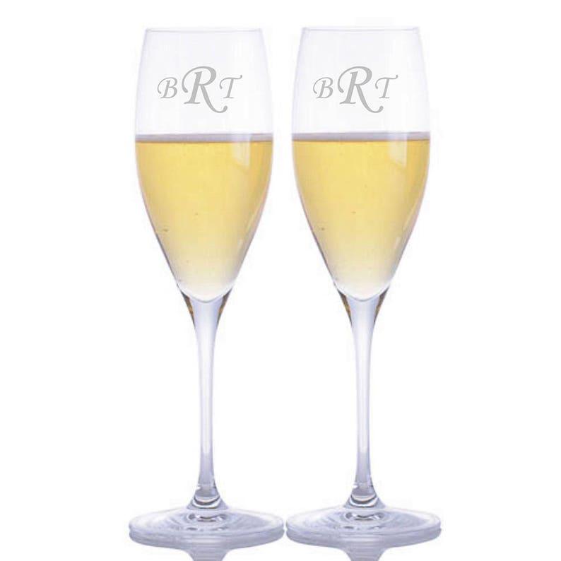 af4395700c0 Personalized Engraved Vinum Cuvee Prestige Champagne Glass By | Etsy