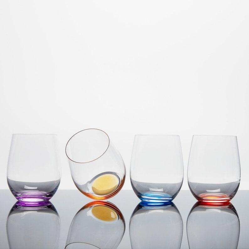 9d641d90c9a Custom Crystal Happy O Wine Tumbler Volume 1 By Riedel | Etsy
