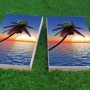 Corn Hole Space Weed Themed Light Weight Bag Toss 1x4 Regulation Size Custom Cornhole Board Game Set