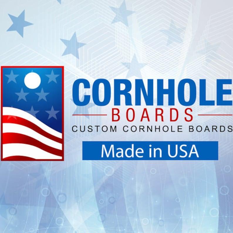 Corn Hole Wraps Fall Leaves Themed Cornhole Board Prints  Wraps Bag Toss Custom Corn Toss