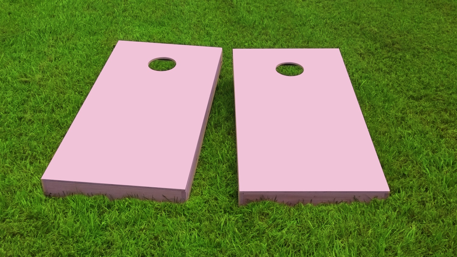 pink painted 1x4 cornhole boards w/bags 25 paint colors/20 | etsy