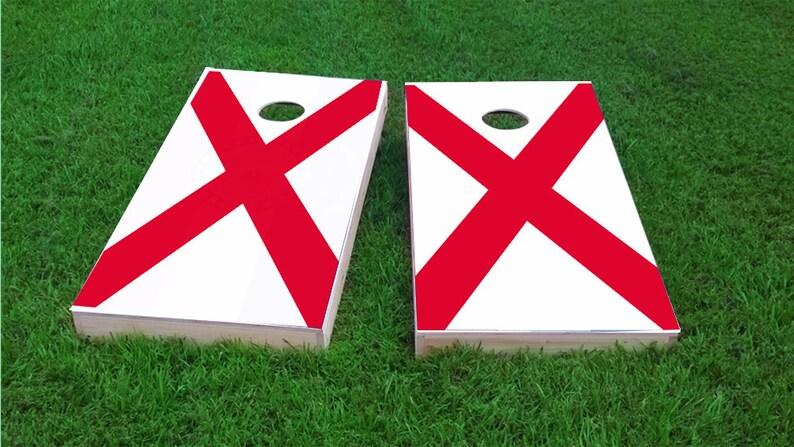 Corn Hole Wraps Bag Toss Custom Black Illinois Themed Cornhole Board Prints Corn Toss FREE SHIPPING