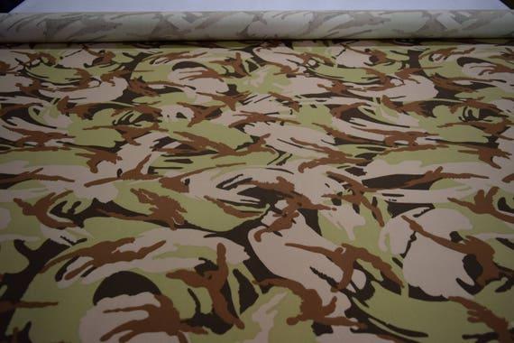 "Ny Co Twill Fabric Desert DPM Disruptive Camo 66/"" W Military Camouflage Hunting"