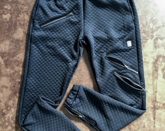 Limited Edition BLVK QUILTED Joggers
