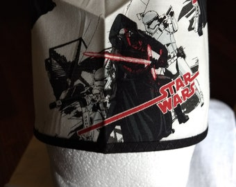 33a9350c4bb Star Wars Darth Maul and First Order Troopers Surgical Scrub Hat
