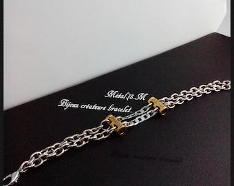Creative jewelry bracelet. Métal.75.M