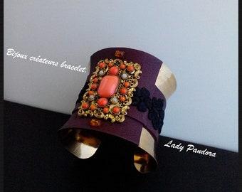 Bijoux créateurs bracelet. Lady Pandora