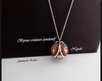 Bijoux créateurs pendentif. Niyati