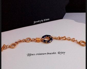 Bijoux créateurs bracelet. Kristy