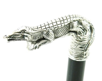Elegant Gift Paper Knife In Stainless Steel Head Horse Handmade Cavagnini Antiques Walking Sticks/canes