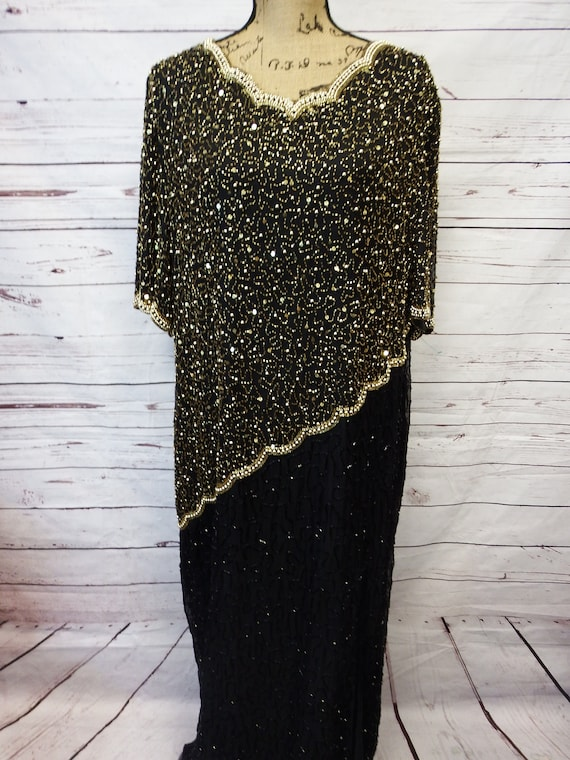 plus size sequin dress - black sequin dress - sequin dress - sequin dress  vintage - sequin dress women - sequin dresses - silk dress vintage