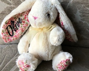 Bridesmaid  Flower girl  Personalised bunny  Personalised soft toy  Easter  Bunny  bunny teddy page boy  will you be my bridesmaid  5fd964648