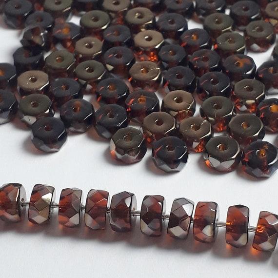 5pcs Floral Mixed Colour Large Oval Lampwork Beads L008-M