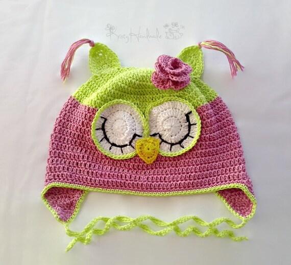 Häkeln Sie Hut Babymütze Childrens Tier Hut verschlafenen   Etsy