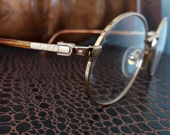 GUCCI mod. GG 1321 vintage ! sunglasses oval extra rare lunettes made in 90's NOS !!