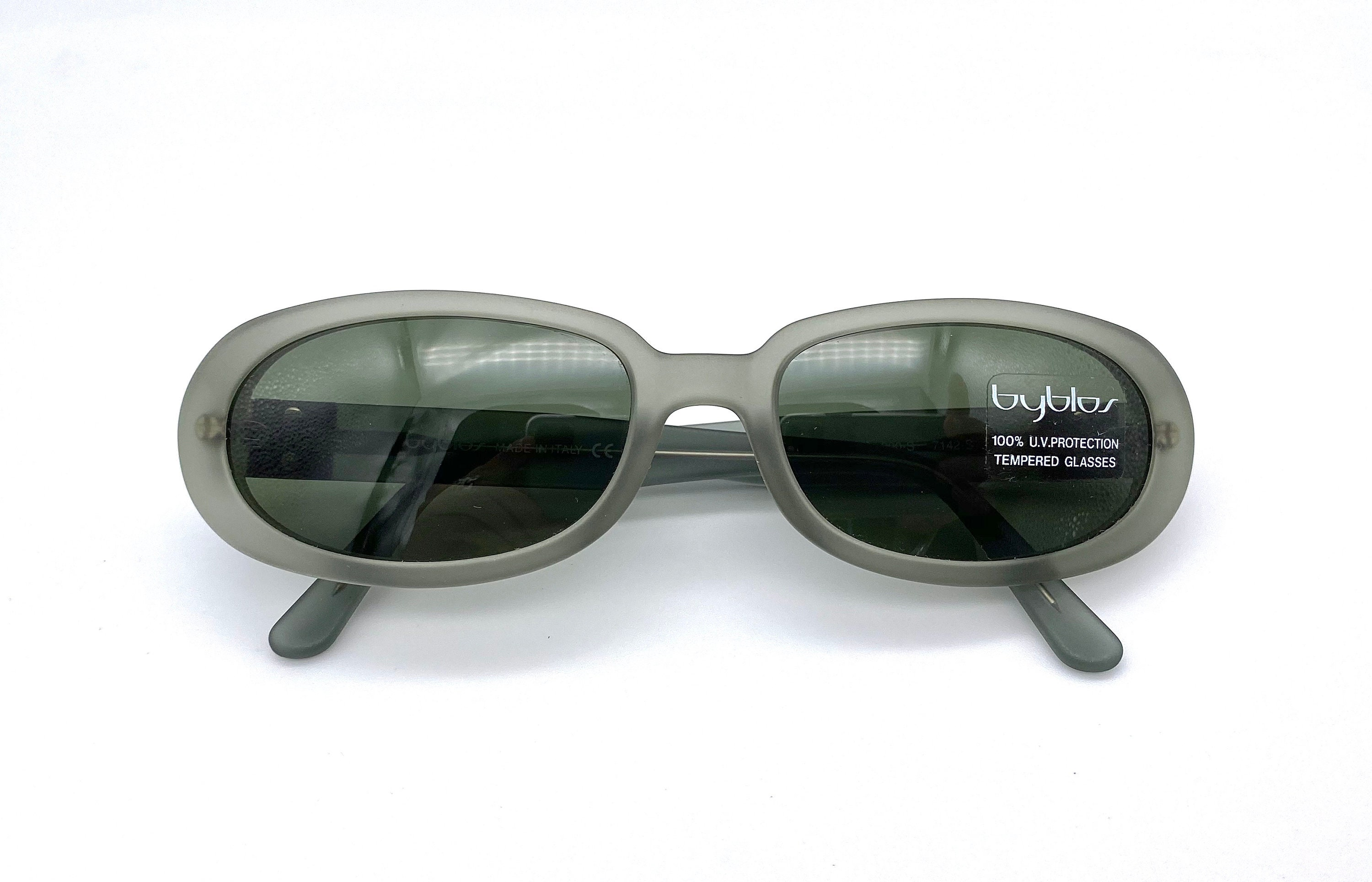 BYBLOS mod. B 200 vintage cateye Sunglasses Made in Italy