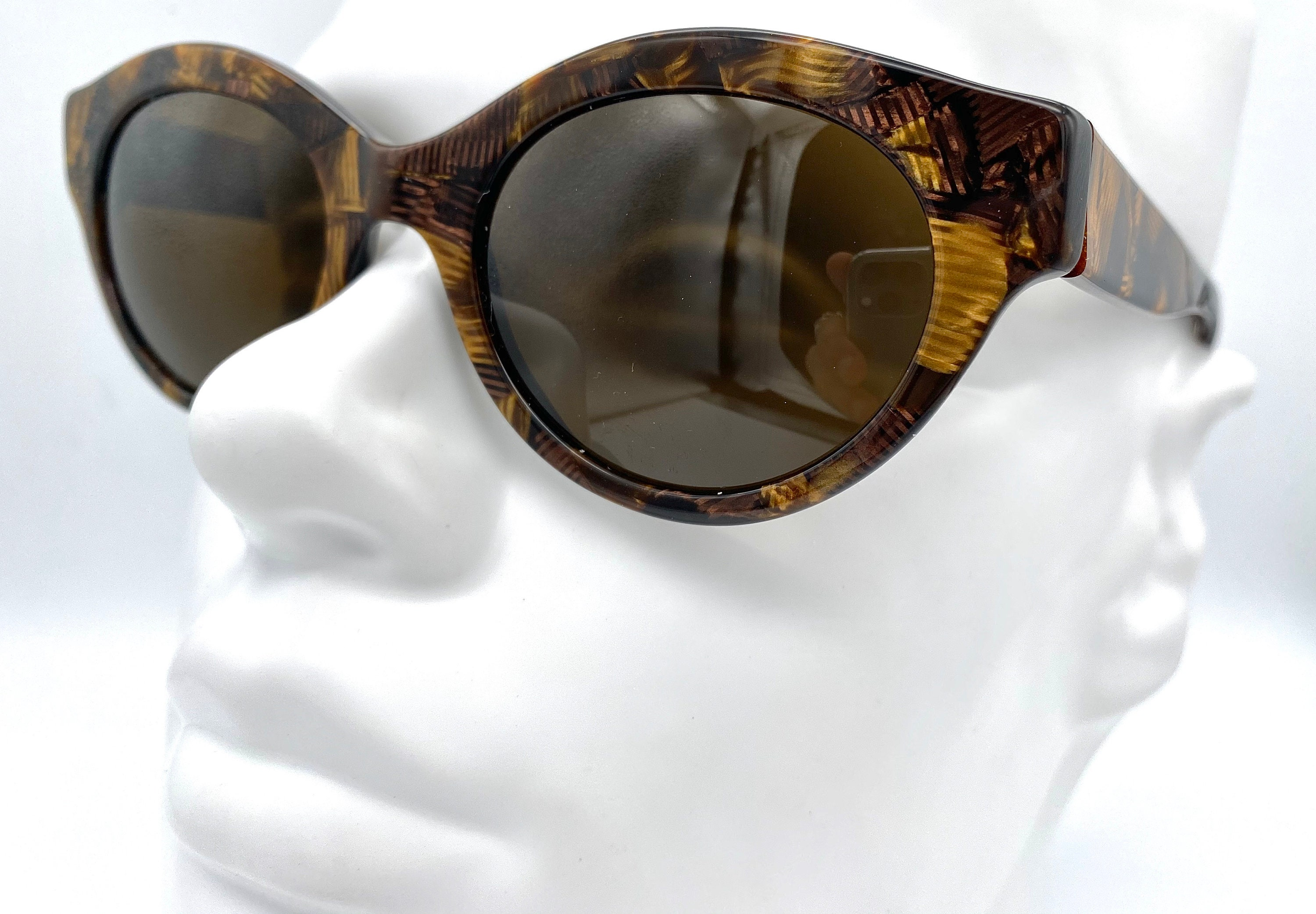 LINEA FIORENTINA mod. 164 vintage cateye Sunglasses Made in