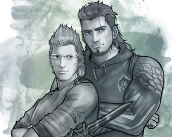 Sword and Shield - Ignis and Gladio