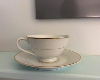 Yamaka China Tea Cup & Saucer in pattern 2112 (retired)