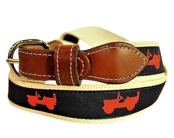 Jeep ribbon belt