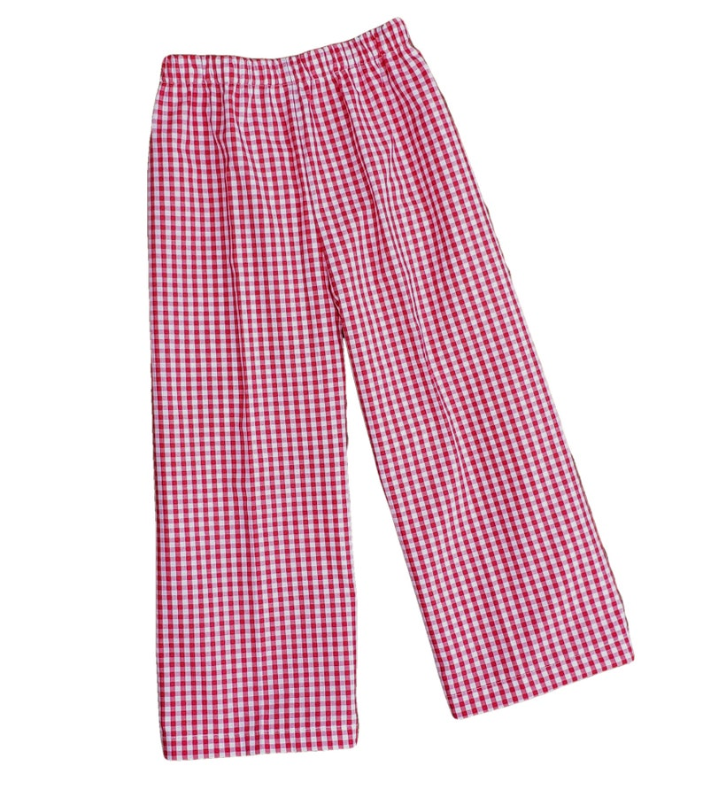 Pants 1/4 Gingham Lined Pants Fully Lined RTS image 0